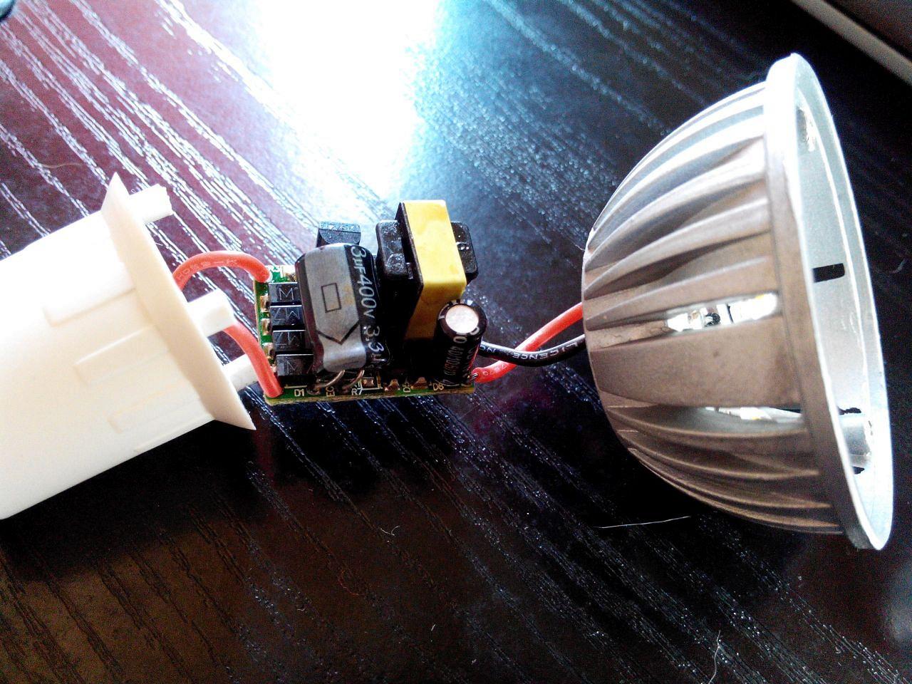 Ремонт своими руками светодиодной лампы led-a606