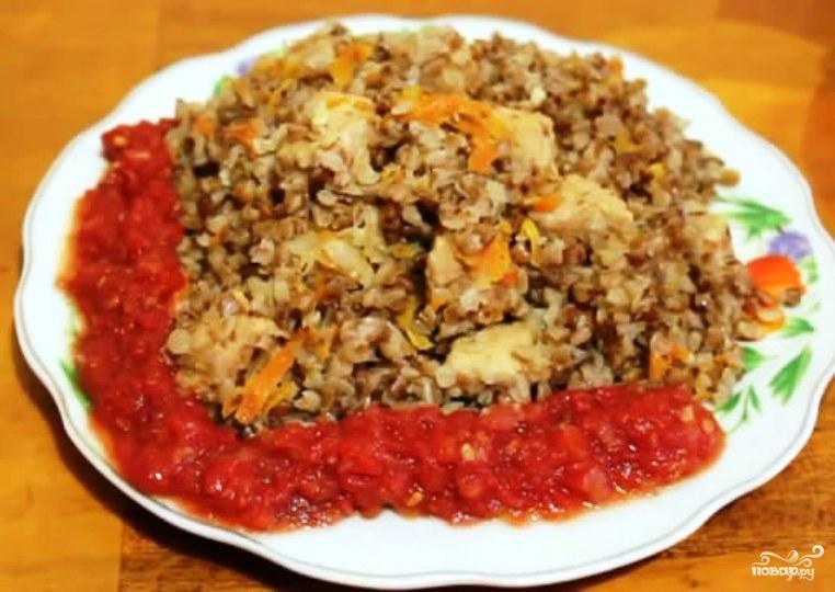 Мясо с гречкой в мультиварке рецепты с фото