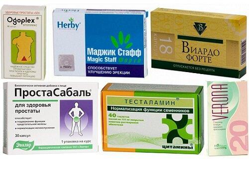 препараты для повышения потенции не повышающие давление