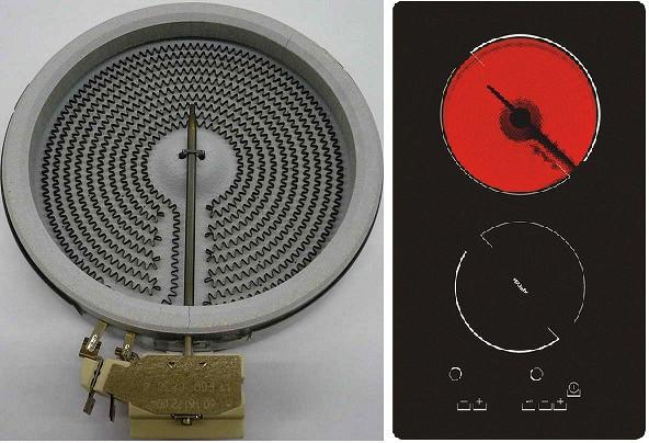 Ремонт стеклокерамической плиты bosch 56