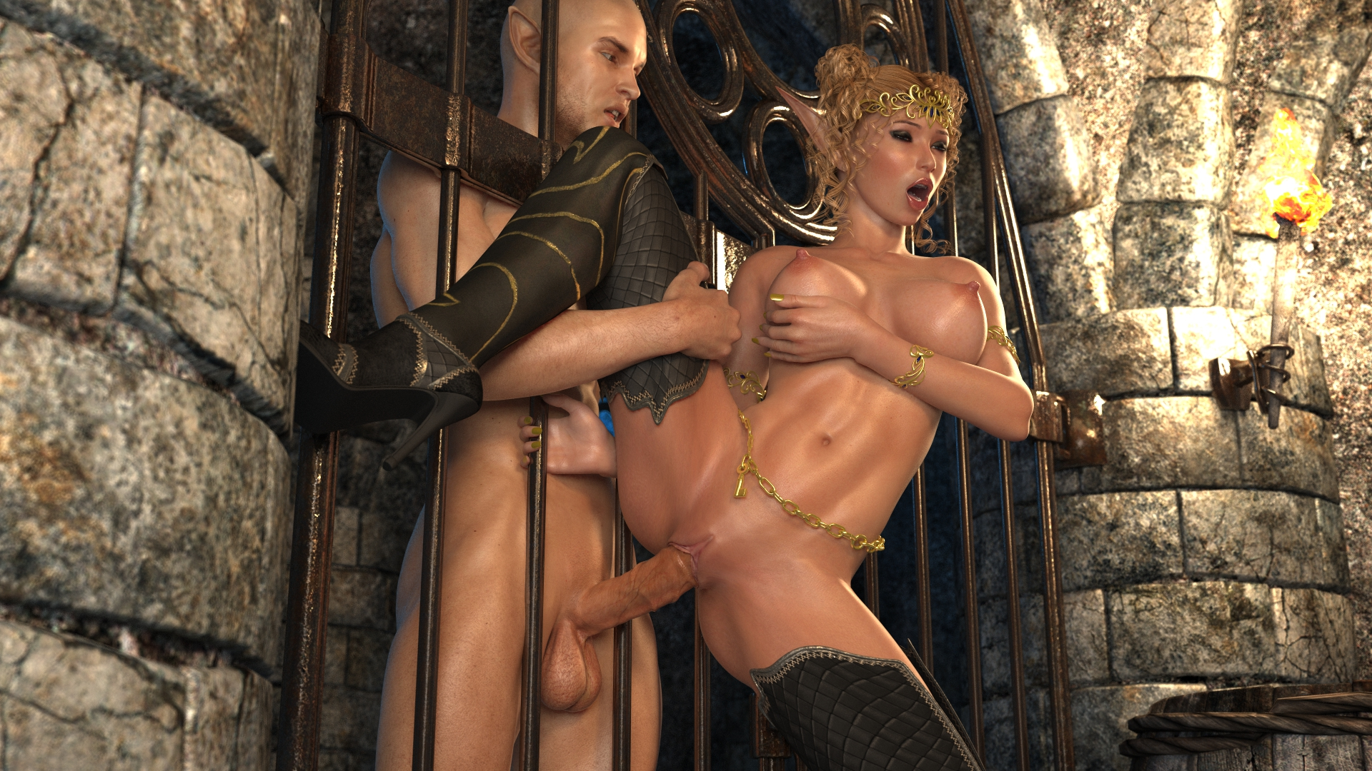 Blonde elf orcs video sexual picture