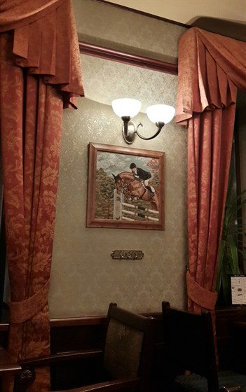 Ресторан Английское посольство - фотография 3 - Интерьер приятный.