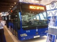 В Москве запустят автобусы Mercedes повышенной комфортности