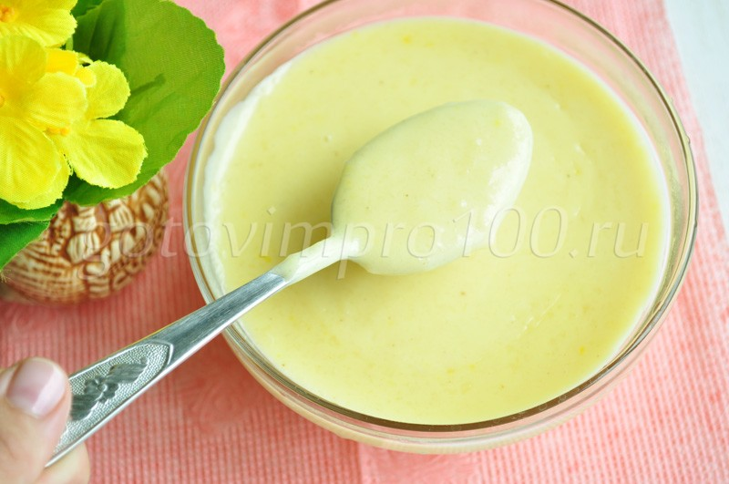 Заварной крем классический рецепт с пошагово со