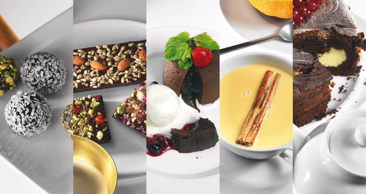 5 состояний шоколада