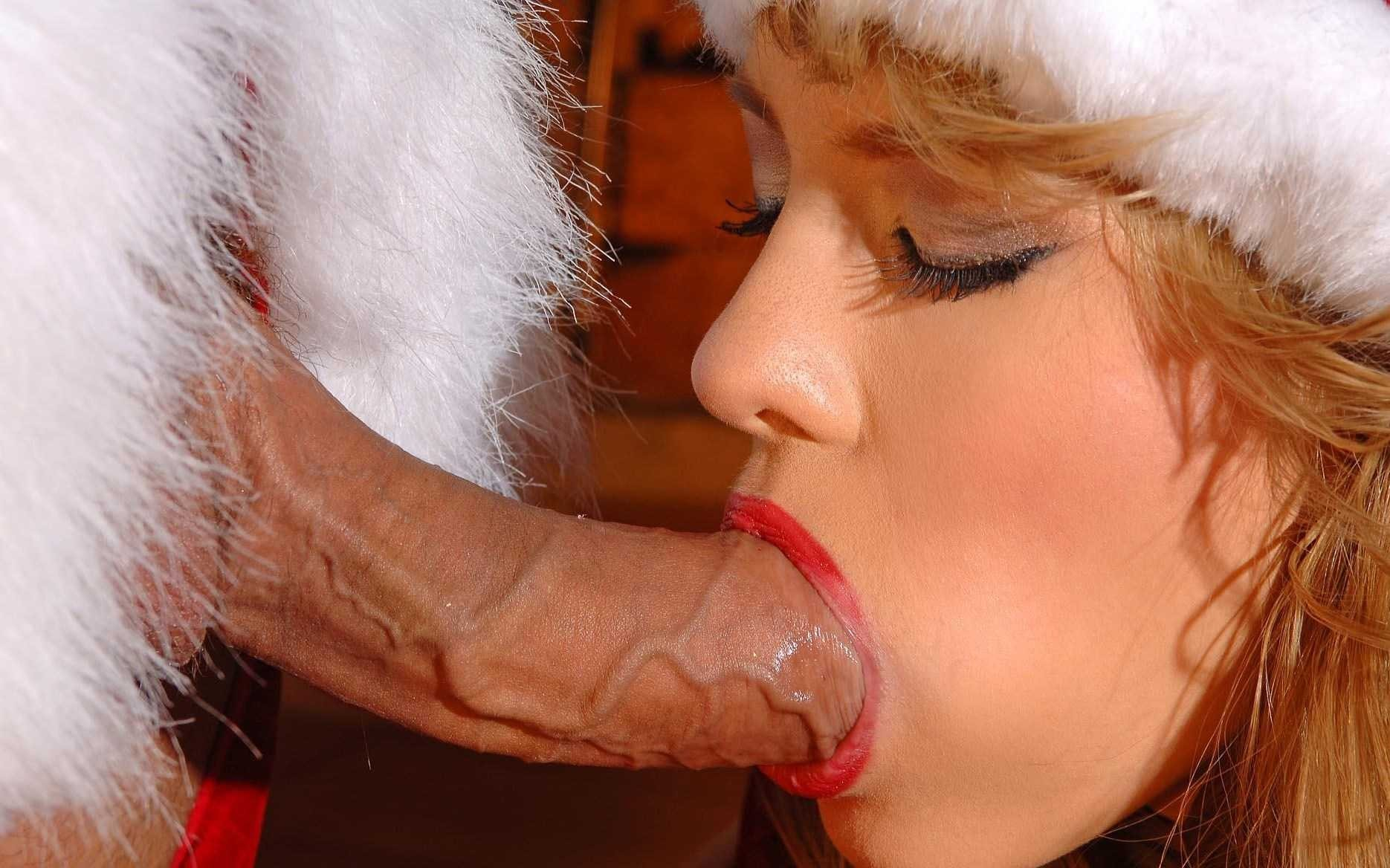 Sexey elves sucking santa naked picture