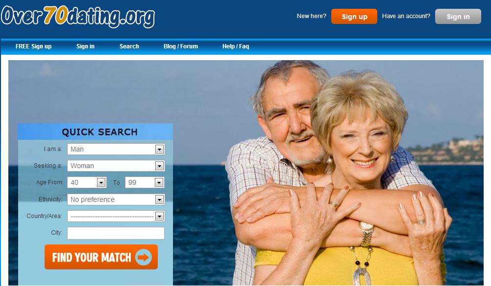 Online dating sites for seniors