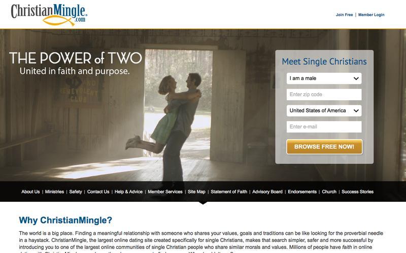 Christian Dating - Meet Christian Singles For Free