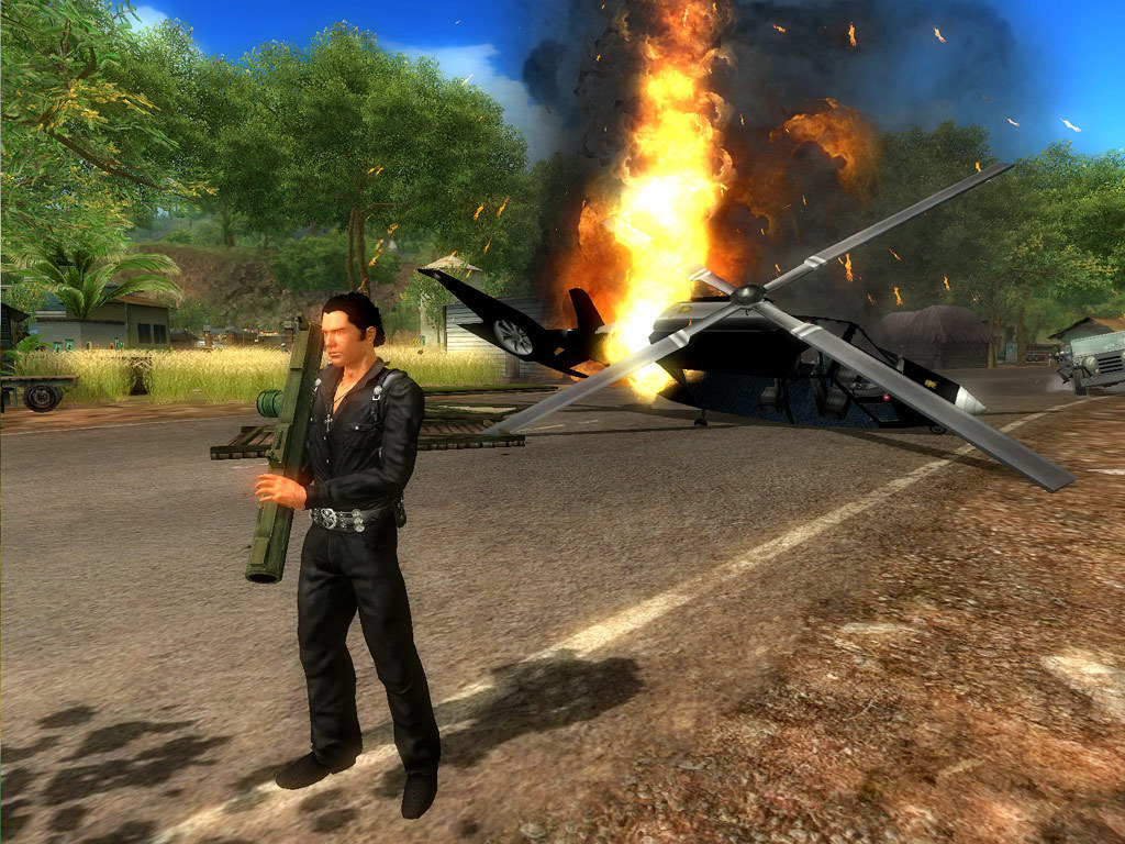 Just Cause 2 GAME TRAINER +DLC +45 Trainer - download