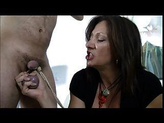 Electro sex toy woman