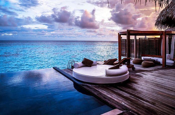 Дом на берегу океана в остров Рафина