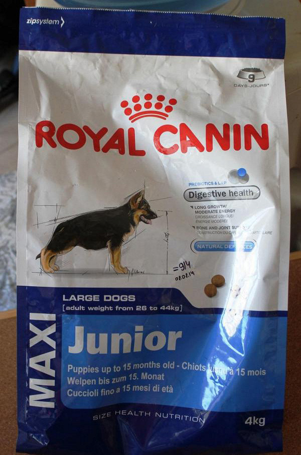 Таблица корма корм royal canin junior