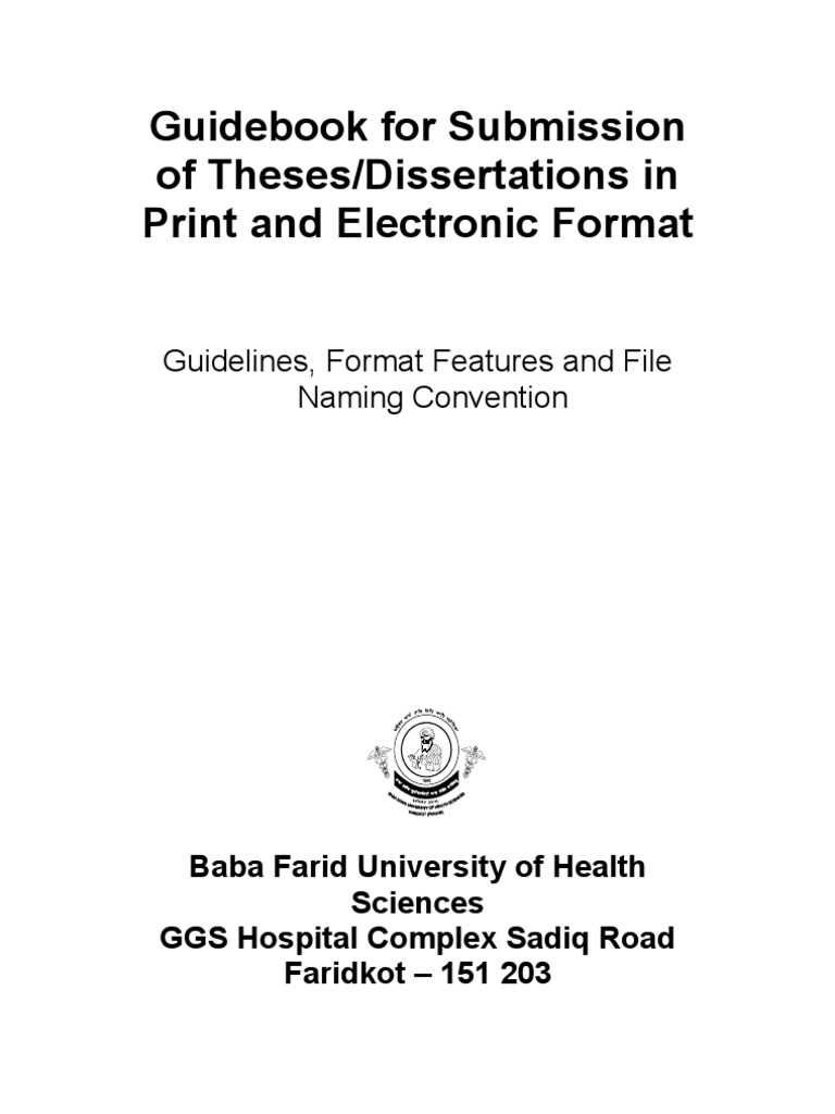 Rguhs thesis topics in psychiatry