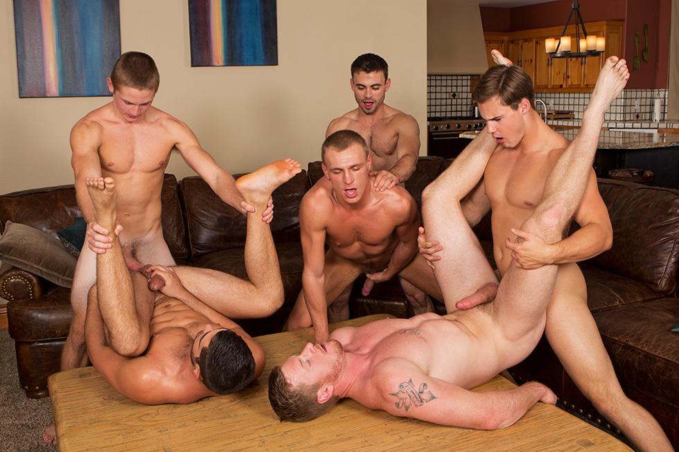Black gay orgy tube