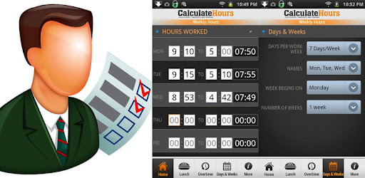 Time Worked Calculator - Download