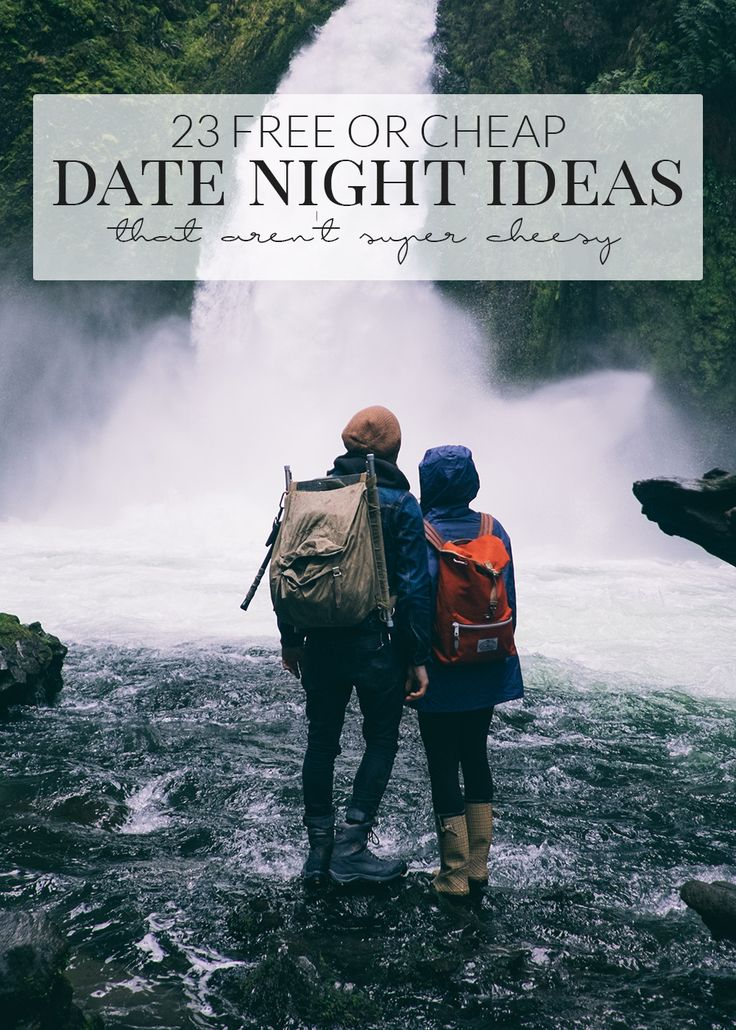 Cheap date ideas at night