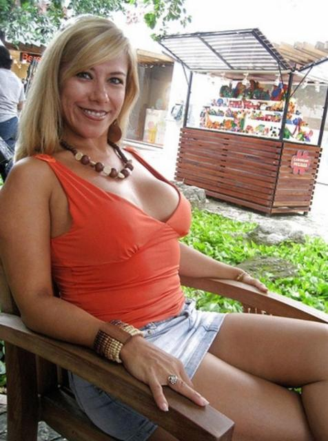 Freind's mom big boobs