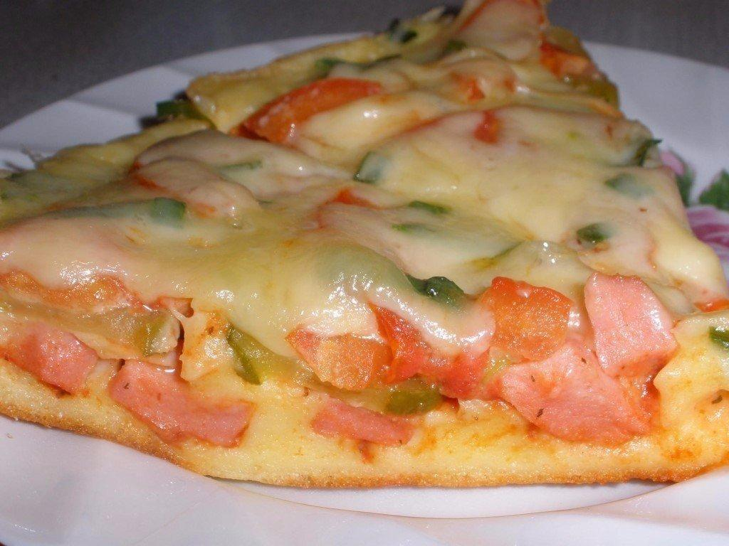 Пицца рецепт теста быстрый и вкусный