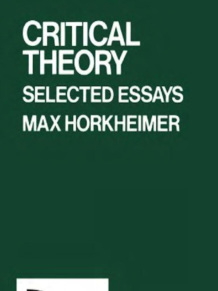 Erich fromm essays