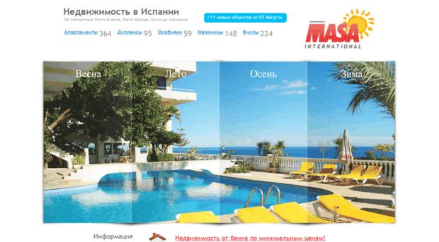 Сайты испании о недвижимости