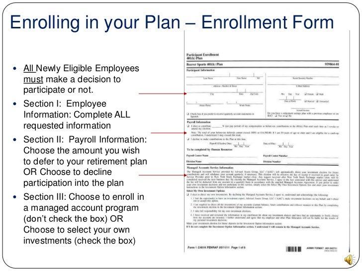 Desjardins 401k online id forms