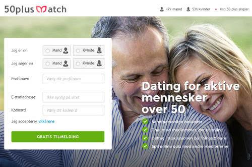 Free dating 50 plus