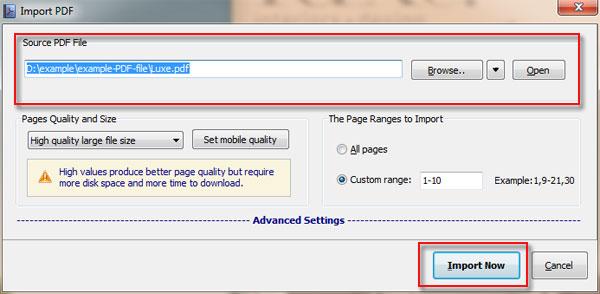 Flip PDF Professional: Convert PDF to Flipbook and