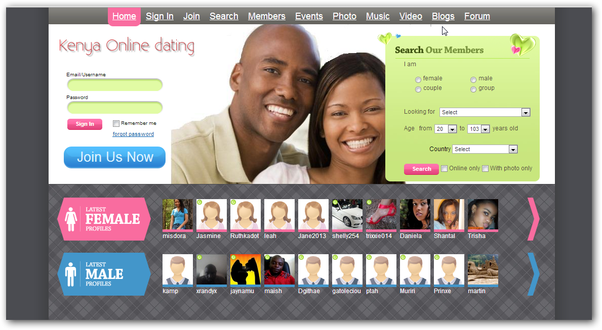 Single female dating sites
