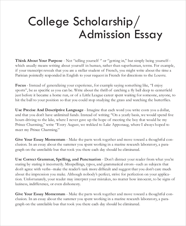 Nursing Scholarship Essay Examples Free Essays