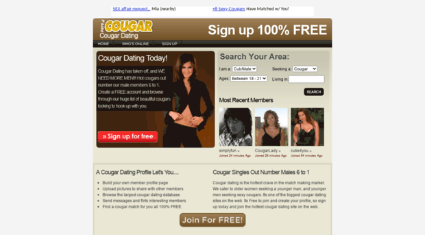Best Free Cougar Dating Websites - Meltem ilingir