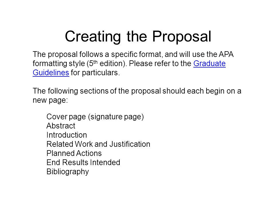 Writing a Research Proposal - Organizing Your Social