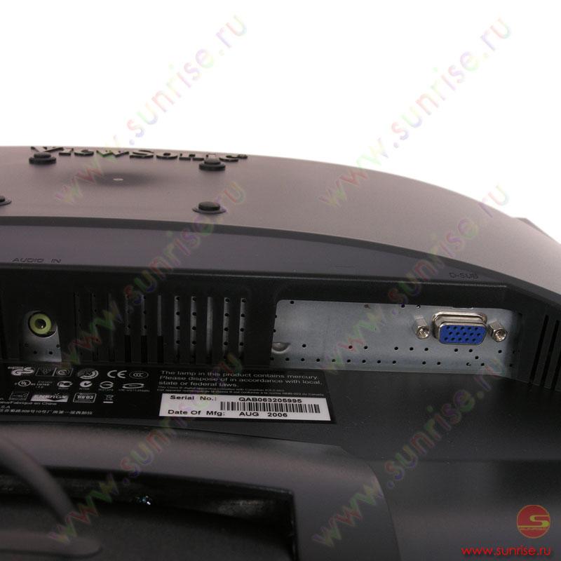 Viewsonic vg1921wm service manual