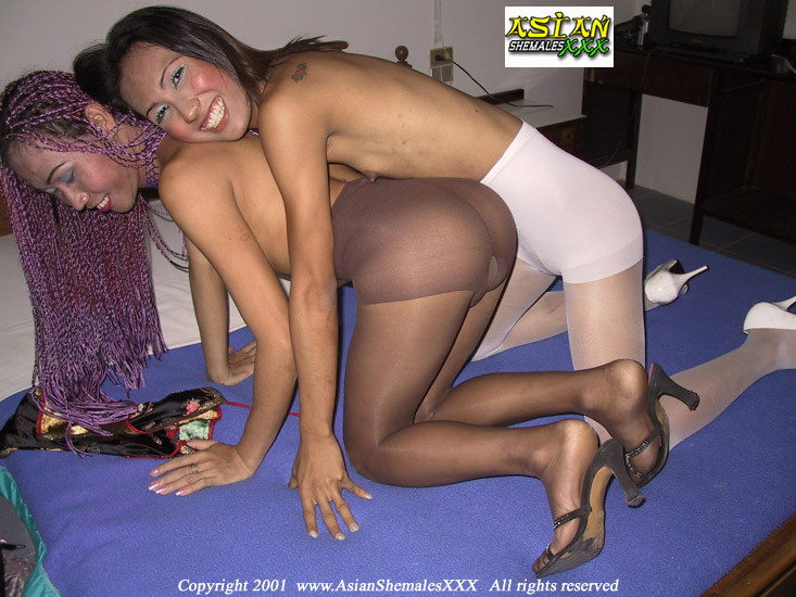 Asian lesbians in pantyhose pla asian