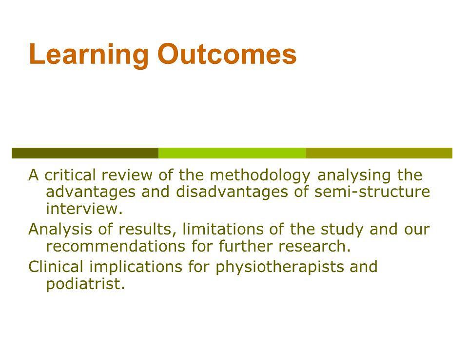 Methodology dissertation structure