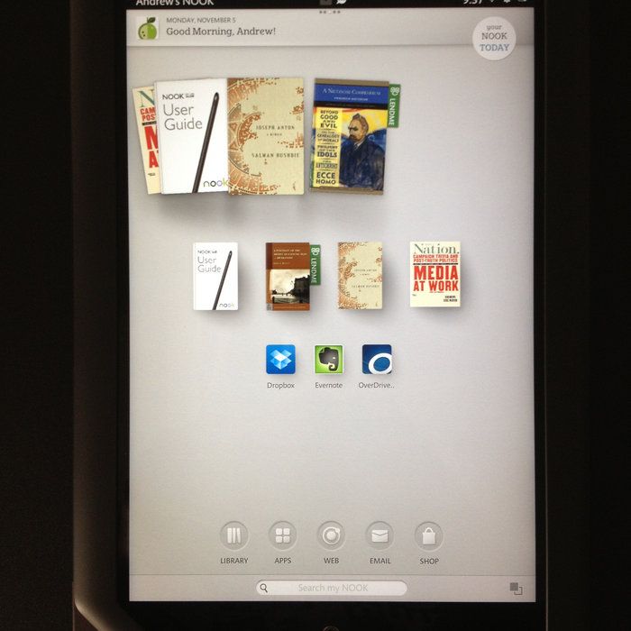 Nook Simple Touch User Guide Download
