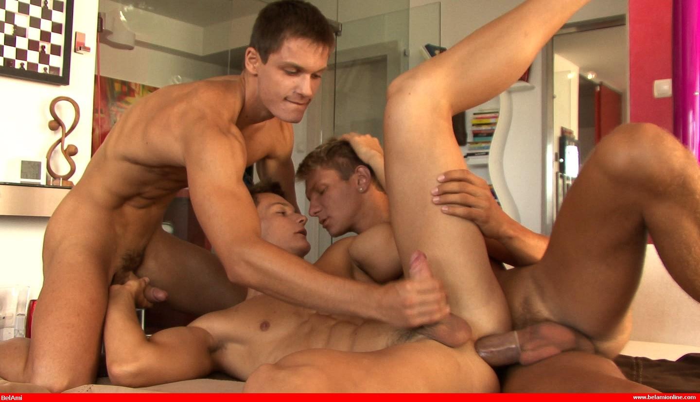 Gaysex bukkake gay gang
