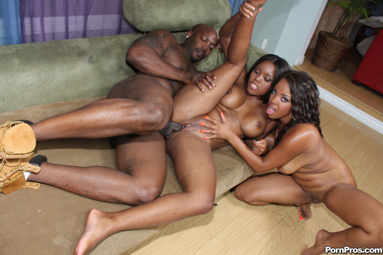 Американками афро порно с