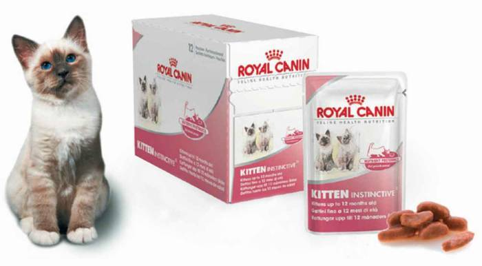 Корм royal canin паучи kitten