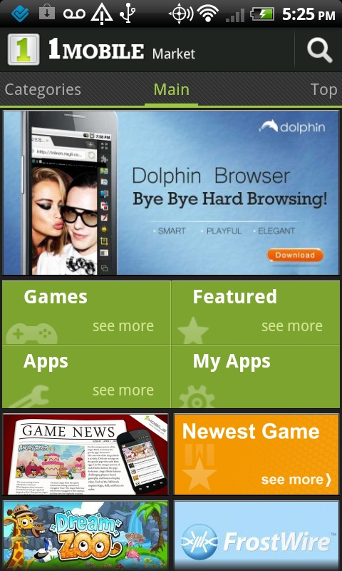 Dating app android market