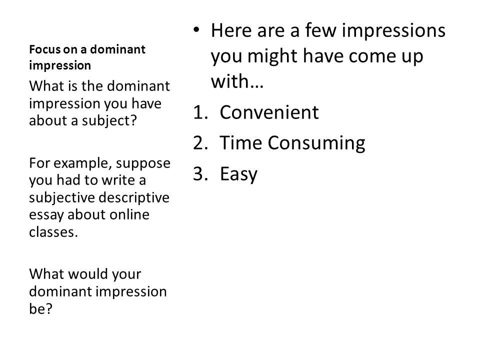 Write my topics on descriptive essay