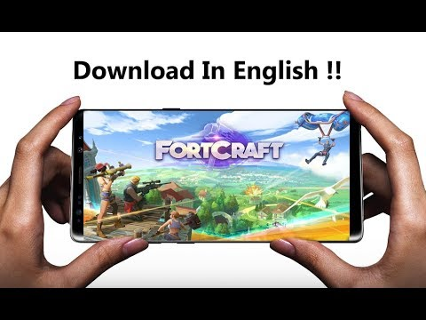 NEW FORTNITE MOBILE CLONE! Fortcraft Gameplay
