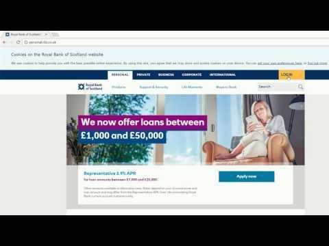 Royalbank financial history google account