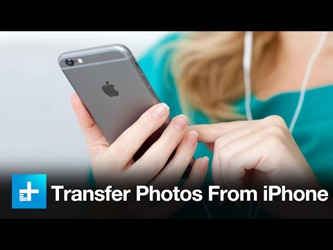 How to transfer your iPhone and iPad photos to