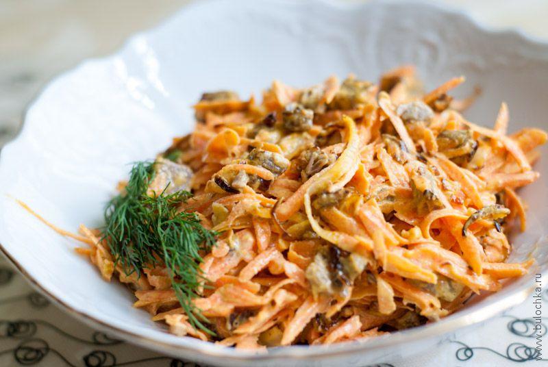 Теплые салаты рецепты с фото простые