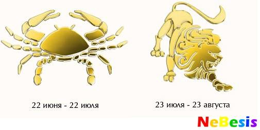 Совместимость рака мужчины и льва женщины по гороскопу