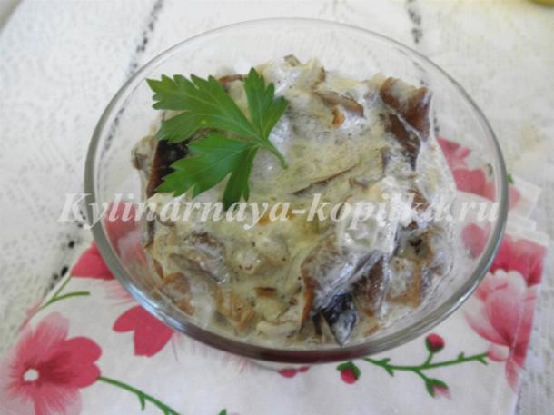 рецепты из сушеных грибов с фото