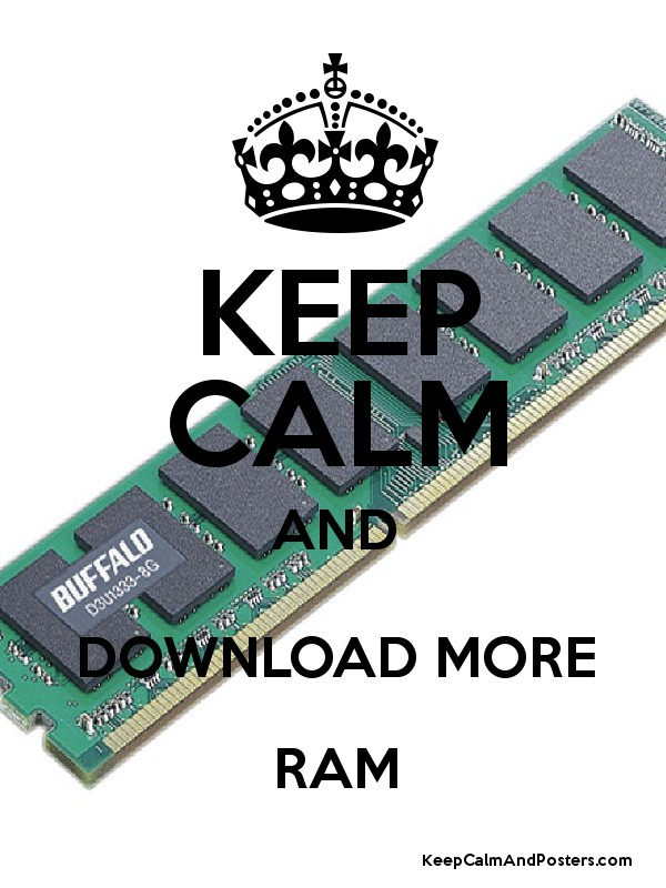 James downloads more RAM - YouTube