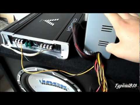 Hook up car radio in your house