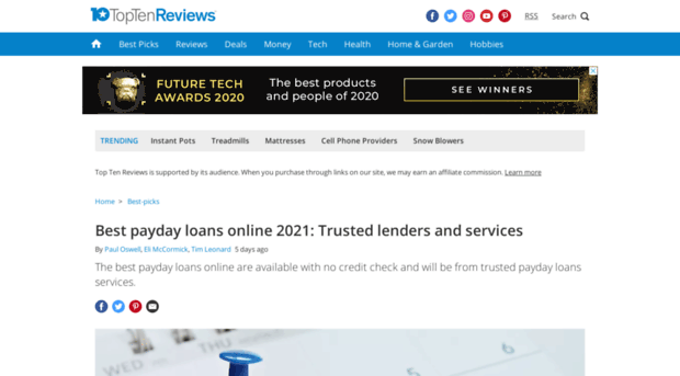 Apex payday loans reviews