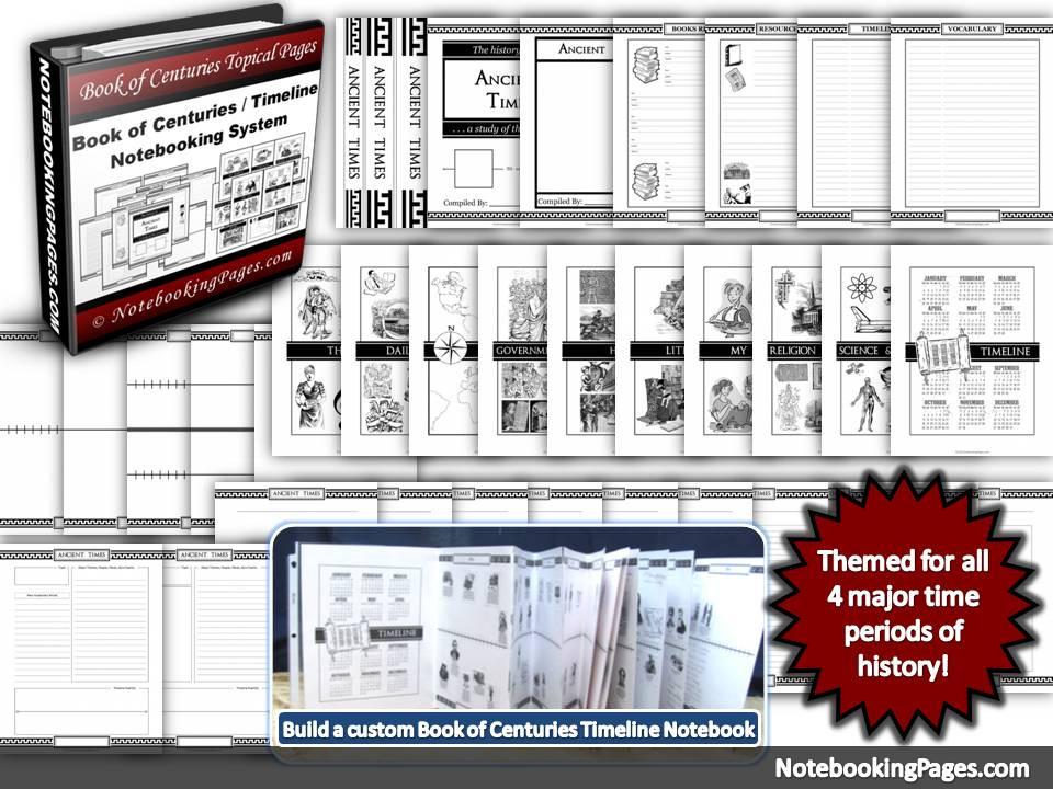 Xoom history timeline notebook online